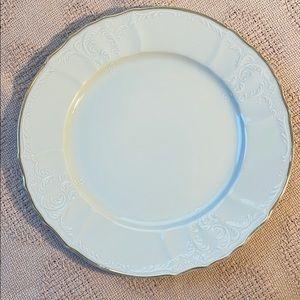 Set of 4 Baum Bros ™️ Fine Bohemian Dinner Plates